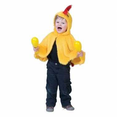 Carnavalskleding kip/haan verkleed cape babys/peuters arnhem