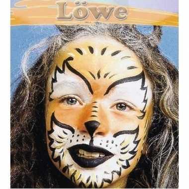 Carnavalskleding leeuw schminken schminkset arnhem