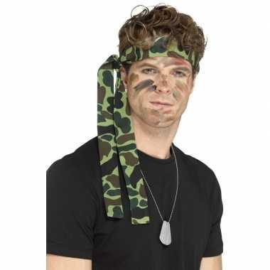 Carnavalskleding leger accessoires verkleedset ketting hoofdband arnh