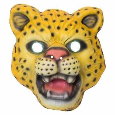 Carnavalskleding luipaard/panter verkleed dierenmasker kinderen arnhe