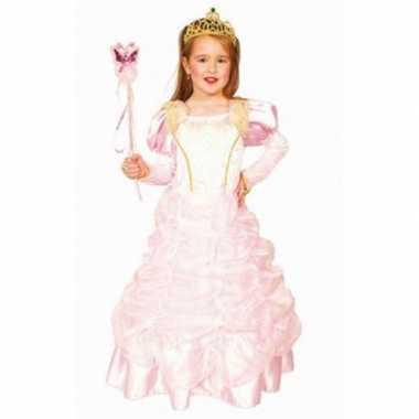 Carnavalskleding luxe lichtroze prinsessenjurk arnhem