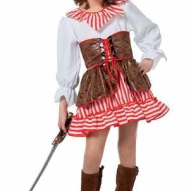 Carnavalskleding meiden piraten jurkje morgan arnhem