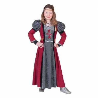 Carnavalskleding middeleeuwse jonkvrouw verkleed jurk meisjes arnhem