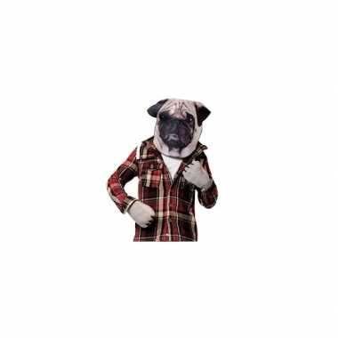 Carnavalskleding mopshond hond verkleedset volwassenen arnhem