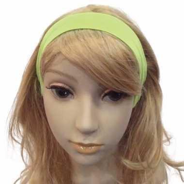 Carnavalskleding neon groene haarband arnhem