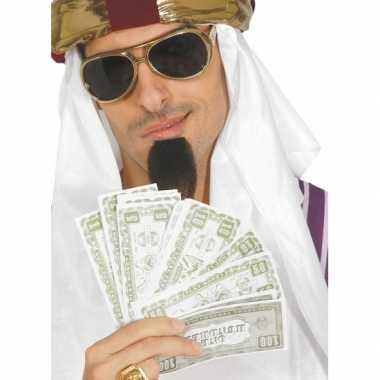 Carnavalskleding nep dollars verkleedaccessoires biljetten arnhem