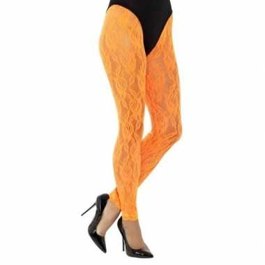 Carnavalskleding oranje jaren panty dames arnhem