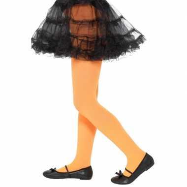 Carnavalskleding oranje legging kinderen jaar arnhem