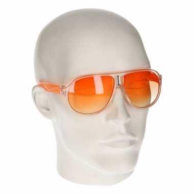 58acfca859de1e Carnavalskleding oranje retro zonnebril type arnhem ...