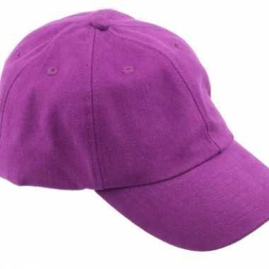 Carnavalskleding paarse baseballcaps arnhem