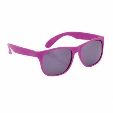 Carnavalskleding paarse zonnebril arnhem