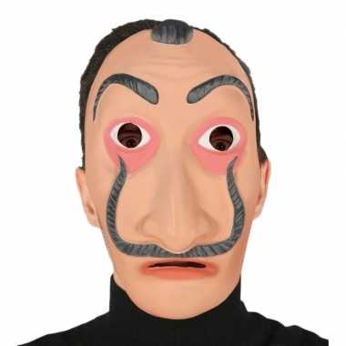 Carnavalskleding papel masker verkleed accessoire volwassenen arnhem