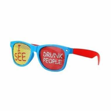 Carnavalskleding party bril i see drunk people arnhem