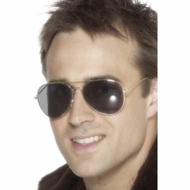 Carnavalskleding piloten zonnebril arnhem