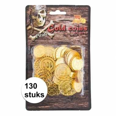 Carnavalskleding piraat munten goud stuks arnhem