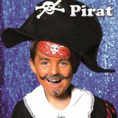 Carnavalskleding piraat schminken schminkset arnhem