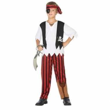 Carnavalskleding piraten verkleed set jongens arnhem
