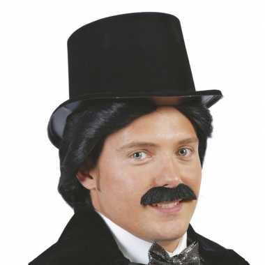 Carnavalskleding plastic hoge hoed volwassenen arnhem