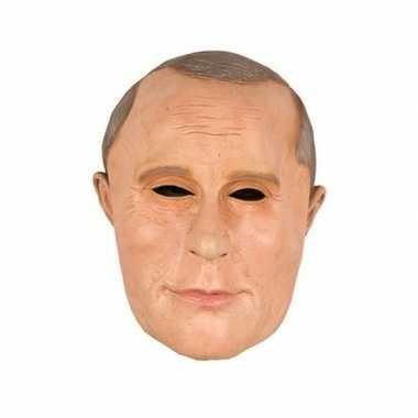 Carnavalskleding president poetin masker latex arnhem