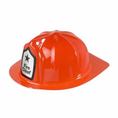 Carnavalskleding rode brandweer helm arnhem