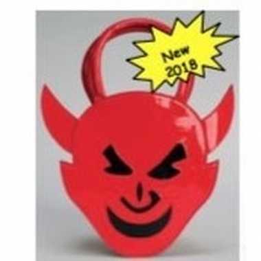 Carnavalskleding rode duivels handtasje arnhem