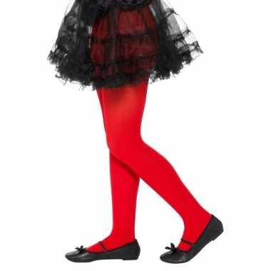 Carnavalskleding rode legging kinderen jaar arnhem