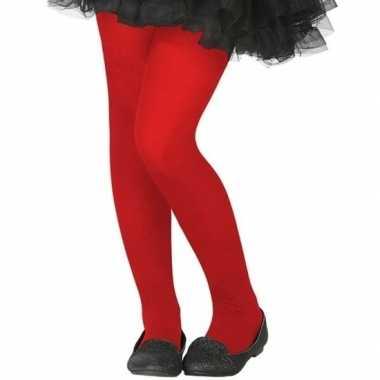 Carnavalskleding rode verkleed panty kinderen arnhem