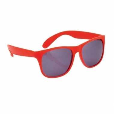 Carnavalskleding rode zonnebril arnhem