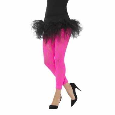 Carnavalskleding roze jaren panty dames arnhem