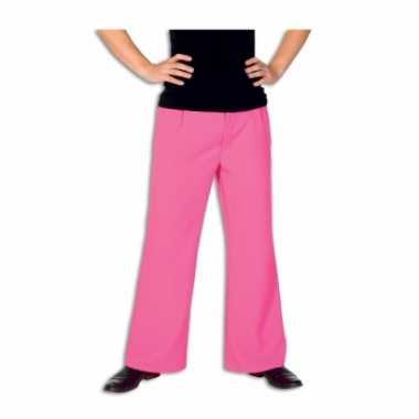 Carnavalskleding roze lange broek heren arnhem