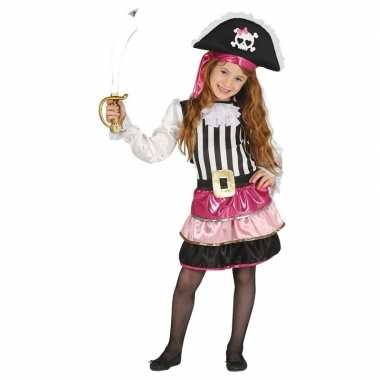 Carnavalskleding roze piraten verkleedjurkje meisjes arnhem