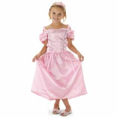 Carnavalskleding roze prinsessen jurk haarband meisjes arnhem