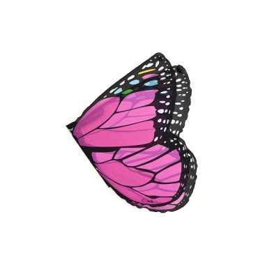 Carnavalskleding  Roze vlinder vleugels kids Arnhem