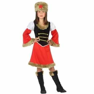 Carnavalskleding russische kozakken verkleed jurk meisjes arnhem