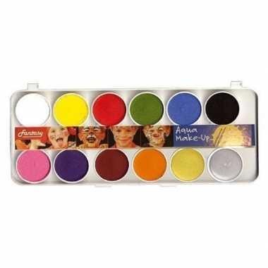 Carnavalskleding schmink set kleuren arnhem