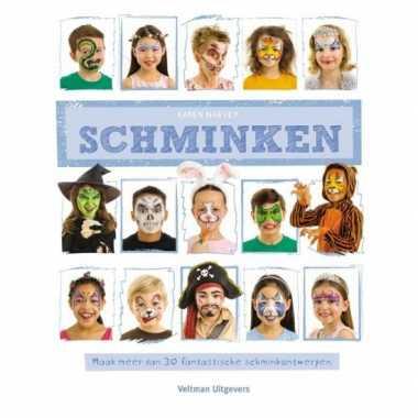 Carnavalskleding schminkboek ontwerpen arnhem