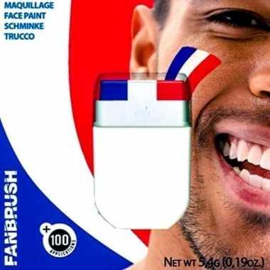 Carnavalskleding schminkstift holland rood wit blauw arnhem