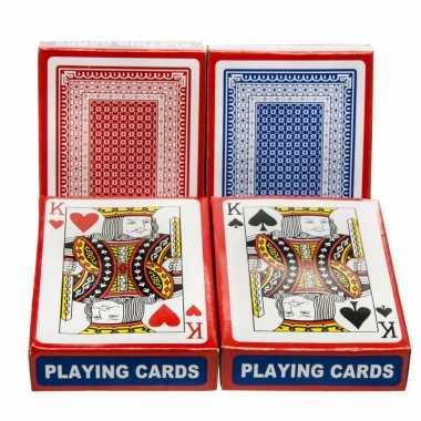 Carnavalskleding set poker/kaartspel speelkaarten geplastificeerd arnhem