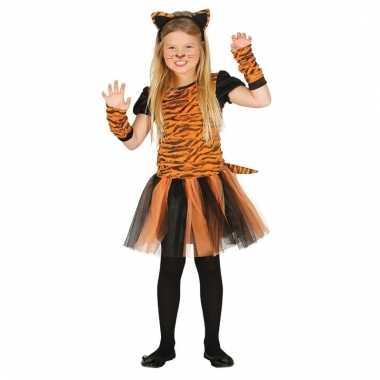 Carnavalskleding tijger verkleedjurkje meisjes arnhem