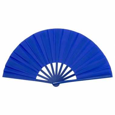 Carnavalskleding toppers handwaaier spaans blauw arnhem