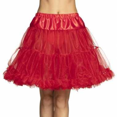 Carnavalskleding toppers rode petticoat dames arnhem