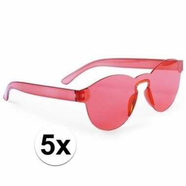 Carnavalskleding toppers rode verkleed zonnebrillen volwassenen arnhe