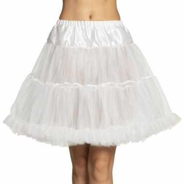 Carnavalskleding toppers witte petticoat dames arnhem