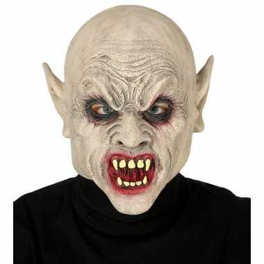 Carnavalskleding vampier/zombie horror masker latex arnhem