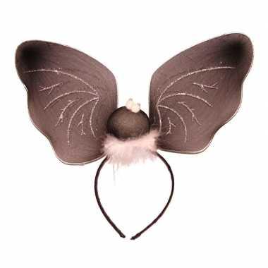 Carnavalskleding vleermuizen vleugels diadeem arnhem