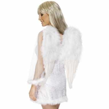 Carnavalskleding witte engelenvleugels dames arnhem