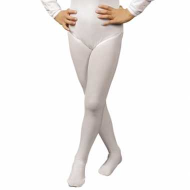 Carnavalskleding  Witte kinder panty Arnhem