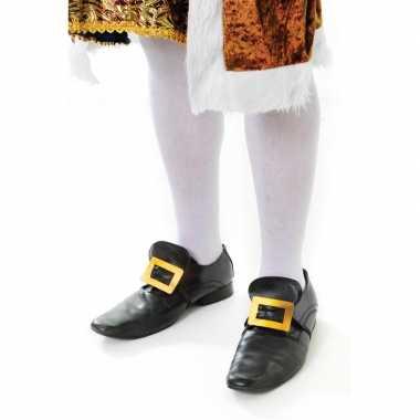 Carnavalskleding witte kniekousen volwassenen arnhem