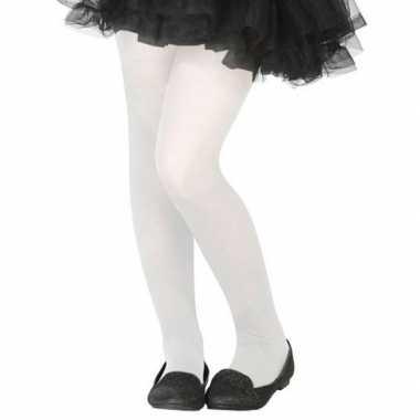 Carnavalskleding witte verkleed panty kinderen arnhem