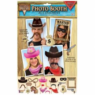 Carnavalskleding x foto props cowboy feestje arnhem